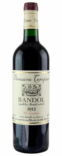 2009 Domaine Tempier Bandol la Tourtine