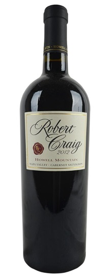 2009 Craig, Robert Cabernet Sauvignon Howell Mountain