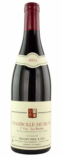 2011 Domaine Christian Serafin Chambolle Musigny les Baudes