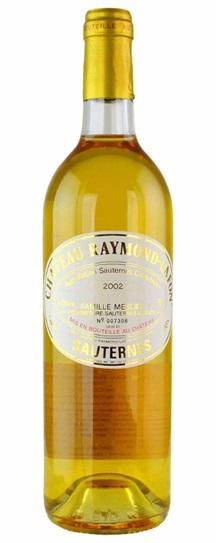 2001 Raymond-Lafon Sauternes Blend