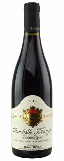 2012 Domaine Hubert Lignier Chambolle Musigny Vieilles Vignes