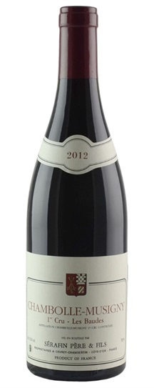 2012 Domaine Christian Serafin Chambolle Musigny les Baudes