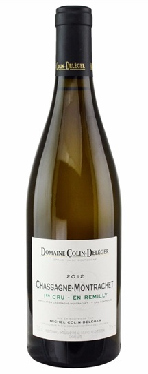 2012 Colin-Deleger Chassagne Montrachet Remilly