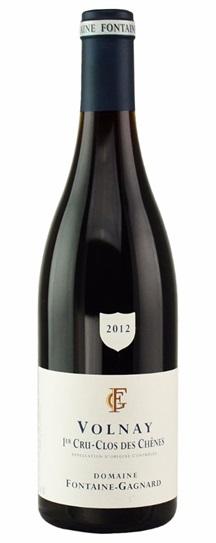 2012 Fontaine Gagnard Volnay Clos des Chênes