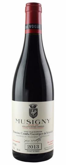 2013 Comte de Vogue Musigny Vieilles Vignes