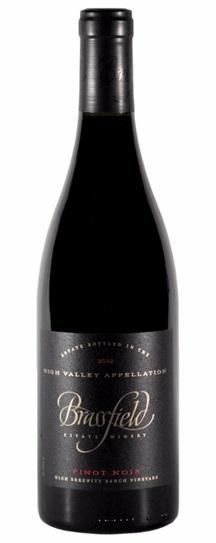 2010 Brassfield High Serenity Pinot Noir