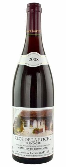 2008 Domaine Gerard Raphet Clos de la Roche Grand Cru