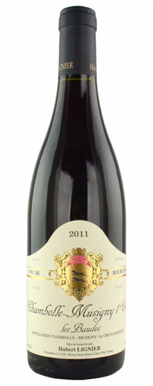 2011 Domaine Hubert Lignier Chambolle Musigny les Baudes