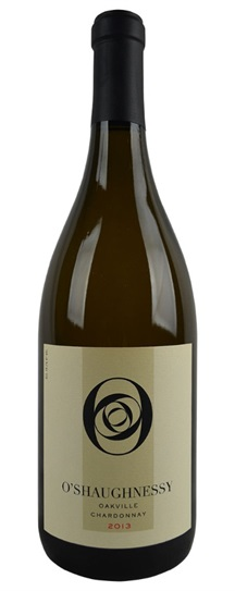 2013 O'Shaughnessy Chardonnay Oakville
