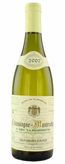 2007 Gagnard-Delagrange Chassagne Montrachet 1Er Cru la Boudriotte