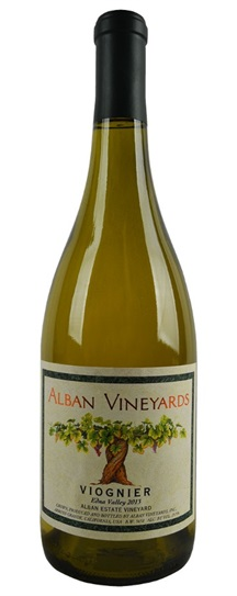 2013 Alban Vineyards Viognier Alban Estate Vineyard