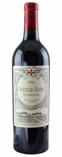 2016 Gazin Bordeaux Blend