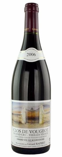 2006 Domaine Gerard Raphet Clos Vougeot Vieilles Vignes