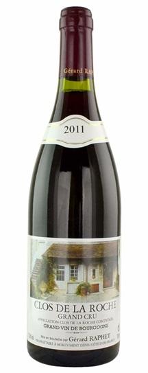 2011 Domaine Gerard Raphet Clos de la Roche Grand Cru