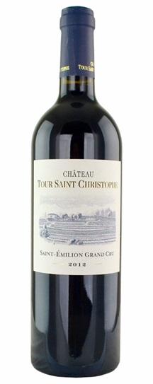 2012 Tour Saint Christophe Bordeaux Blend