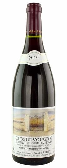 2010 Raphet, Domaine Gerard Clos Vougeot Vieilles Vignes