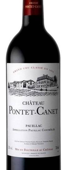2014 Pontet-Canet Bordeaux Blend