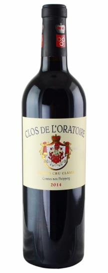 2016 Clos de l'Oratoire Bordeaux Blend