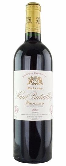 2012 Haut Batailley Bordeaux Blend