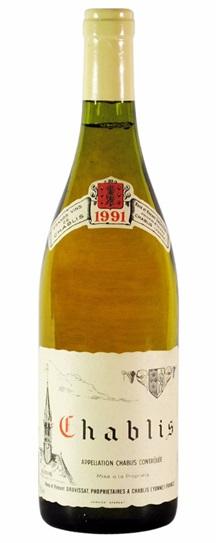 1991 Domaine Rene et Vincent Dauvissat Chablis