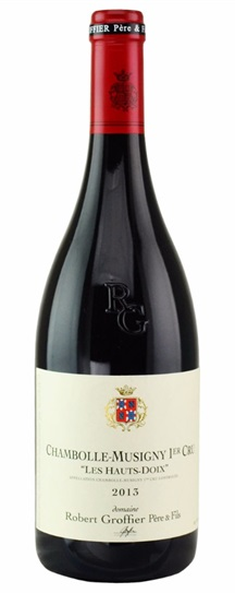 2013 Domaine Robert Groffier Chambolle Musigny les Hauts Doix