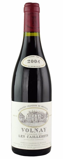 2004 Chandon de Briailles Volnay Premier Cru Les Caillerets