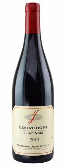 2014 Domaine Jean Grivot Bourgogne Rouge