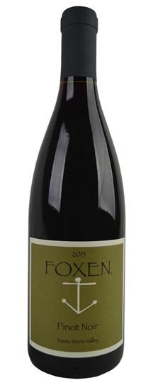 2017 Foxen Vineyard Pinot Noir Santa Maria