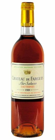 1980 Chateau de Fargues Sauternes Blend