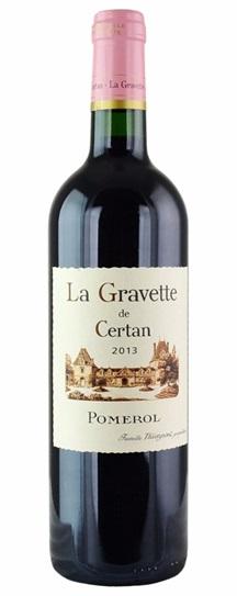 2013 La Gravette de Certan Bordeaux Blend