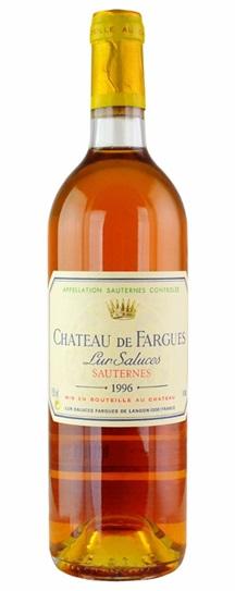 1998 Chateau de Fargues Sauternes Blend