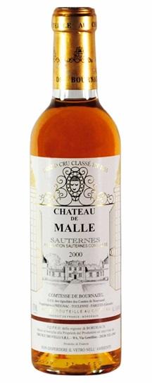 2000 Chateau de Malle Sauternes Blend