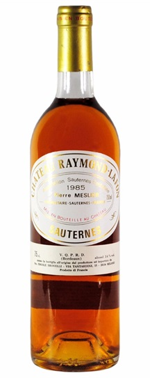 1985 Raymond-Lafon Sauternes Blend