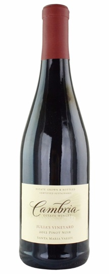 2007 Cambria Pinot Noir Estate Julia's Vineyard