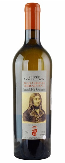 2011 Domaine Abbatucci Cuvee Collection Blanc General de la Revolution