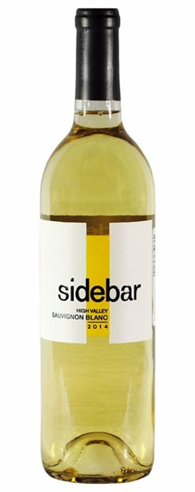 2014 Sidebar Sauvignon Blanc