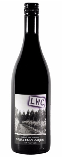 2014 Loring Wine Co Pinot Noir Keefer Ranch