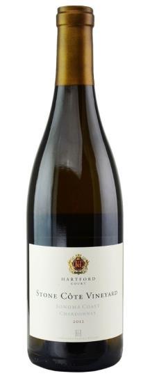 2012 Hartford Court Stone Cote Vineyard Sonoma Coast Chardonnay