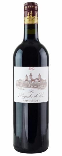2011 Les Pagodes de Cos Bordeaux Blend