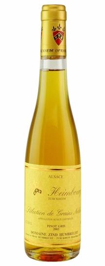 2005 Domaine Zind Humbrecht Pinot Gris Heimbourg Selection de Grains Nobles