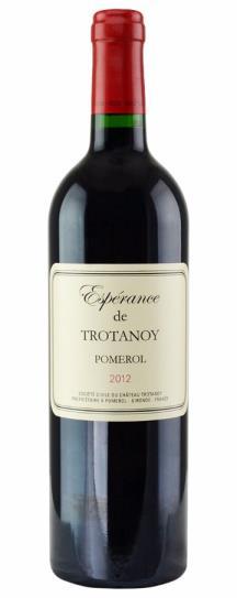 2012 Esperance deTrotanoy Bordeaux Blend