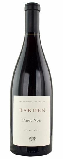 2013 Margerum Wine Co Barden Pinot Noir