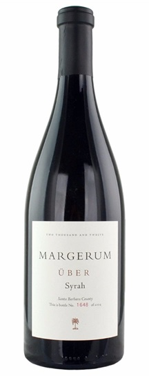 2012 Margerum Wine Co Syrah UBER