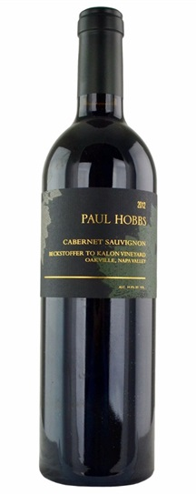 2012 Paul Hobbs Cabernet Sauvignon Beckstoffer To Kalon Vineyard