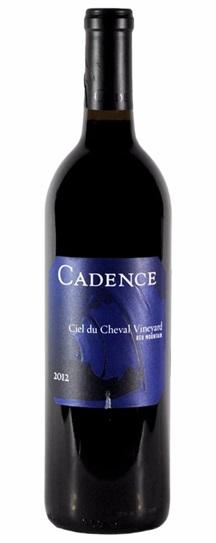 2012 Cadence Ciel du Cheval Vineyard