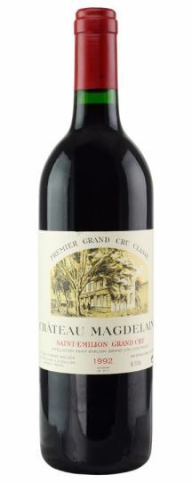 1992 Magdelaine, Chateau Bordeaux Blend