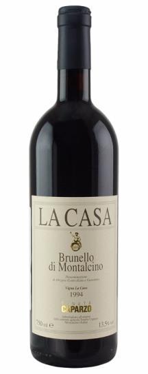 1988 Caparzo Brunello di Montalcino la Casa