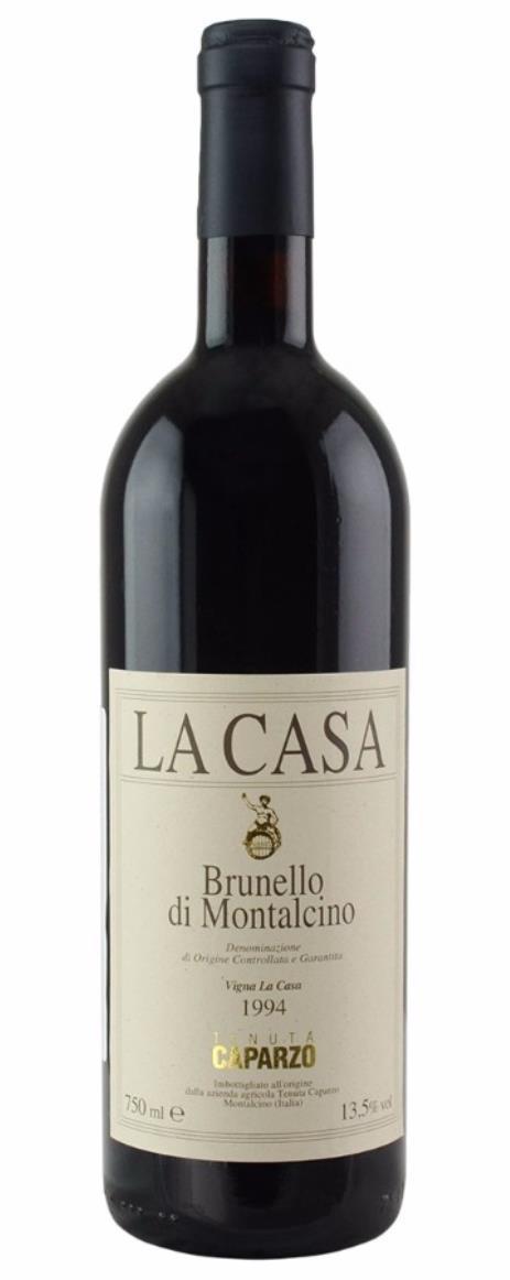 Buy 1994 caparzo brunello di montalcino la casa 750ml online for Casa di 750 m