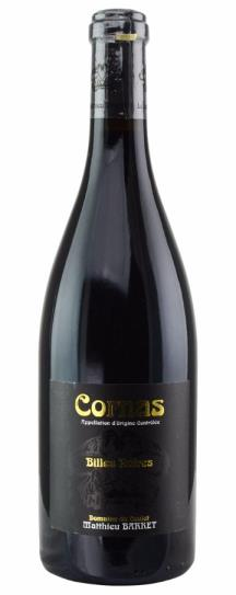 2012 Domaine du Coulet Cornas Billes Noires