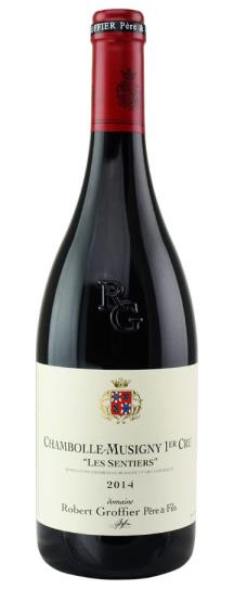 2014 Domaine Robert Groffier Chambolle Musigny les Sentiers